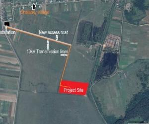Рис. 2 Наближене супутникове зображення